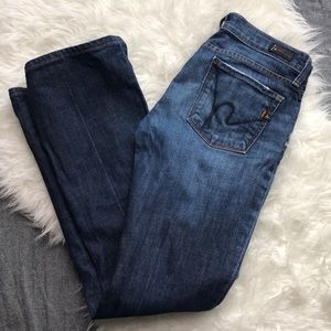 CITIZENS OF HUMANITY   Kelly Bootcut Jeans 27 Mid